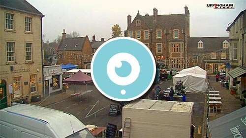uppingham market square webcam